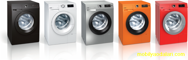 Çamaşır makinesi renkleri