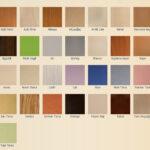 Mobilya Renkleri(Kartelası)