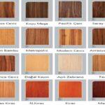 MDF (Ahşap) Mobilya Renk Kataloğu