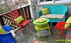 Bahçe Koltuk Sandalye Minderi Dikimi