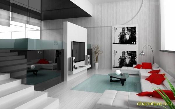 Modern salon takımı tasarımı