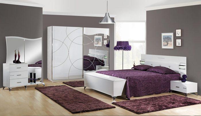 Kaliteli yatak odası dekorasyonu
