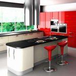 Şık Romantik Mutfak Dekorasyonu Modeli