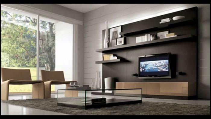 Modern televizyon ünitesi