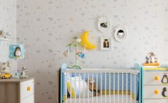 Bebek Odası İçin Duvar Kağıtları