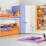 Modern çocuk odası dekorasyonu