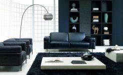 Siyah Koltuk Takımı Dekorasyonu