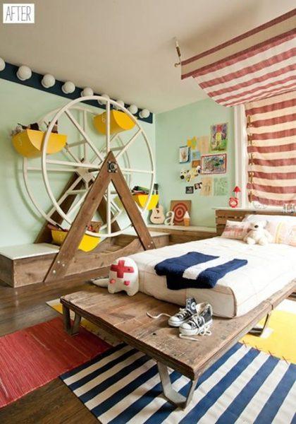 Dekoratif çocuk odası modelleri