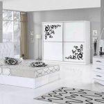 2020 beyaz yatak odası dekorasyonu