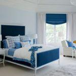 Mavi yatak odası dekorasyonunda püf noktalar