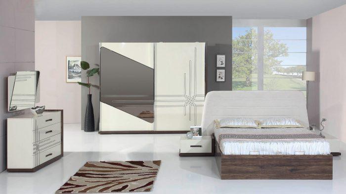 Trend Beyaz Yatak Odası Dekorasyonu