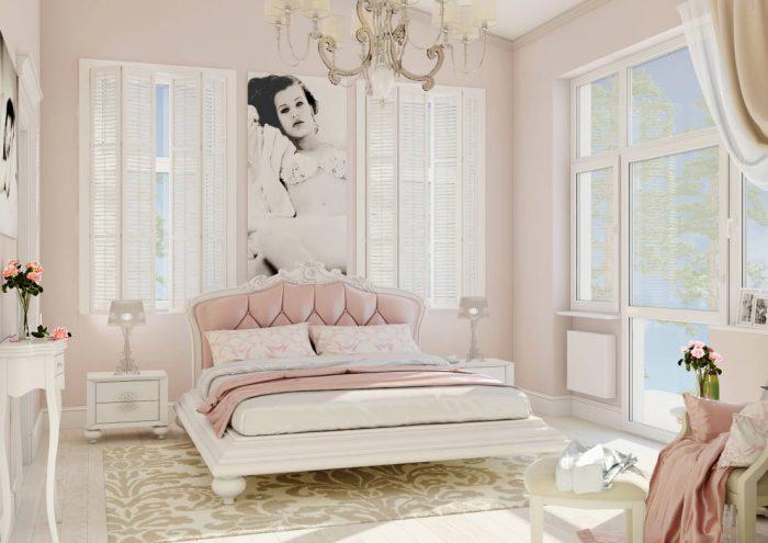 Pudra Yatak Odası Dekorasyonunda Püf Noktalar