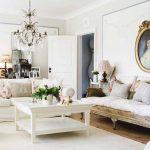 Beyaz klasik dekorasyon