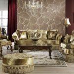Altın rengi dekorasyonun incelikleri