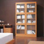 Cam Kapaklı Kitaplık Modelleri
