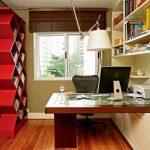 Küçük yeni çalışma odası tasarımları