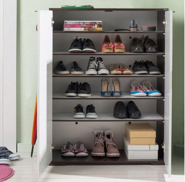 Standart kapaklı ayakkabılık modelleri