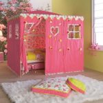Çocuk odası çadır yatak modelleri