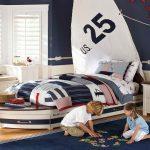 Çocuk odası kayık yatak modelleri
