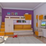 İşlevsel Çocuk Odası Ranza Modelleri