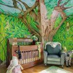 Orman bebek odası 3 boyutlu duvar kağıtları