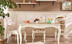 Vintage mutfak masası modelleri