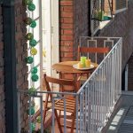 Ufak balkon dekor fikirleri