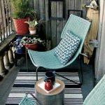 Ufak balkon dekorasyon fikirleri