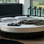 Modern yuvarlak yatak modelleri