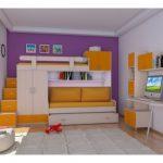 Çekmeceli merdiven çocuk odası modelleri