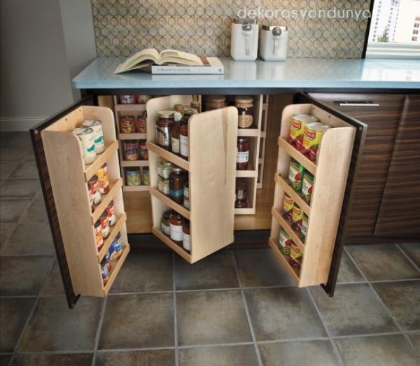 İşlevsel Mutfak Dolabı Modelleri