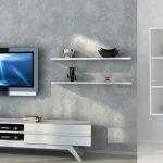 Duvara monte salon tv ünitesi modelleri