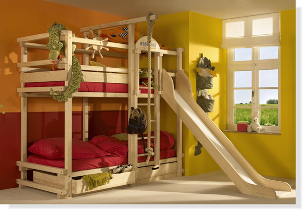 Kaydıraklı Çocuk Odası Modelleri