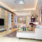 Klasik salon spot aydınlatma modelleri