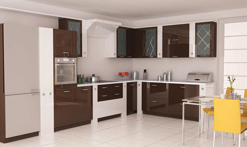 Koyu Renk Mutfak Dolabı Modelleri