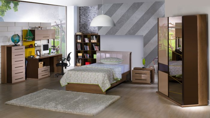 Modern İstikbak Ranzalı Genç Odaları