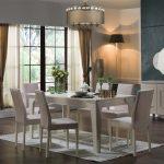 Bellona sementa model krem rengi yemek odası takımı