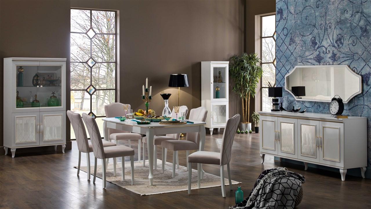Bellona volga yemek odası takımı model ve fiyatları
