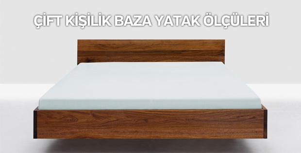 Çift kişilik baza yatak ölçüleri