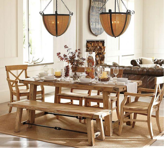 Dekoratif yemek masası modelleri