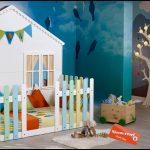 Çocuk odası ev modeli