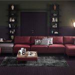 Doğtaş mobilya kırmızı köşe takımı  hector