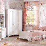 Romantica serisi çilek genc odası