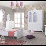 Beyaz prenses genç odası