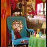 Bohem oda dekorasyonu