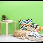 Yeşil duvar boyası tonları