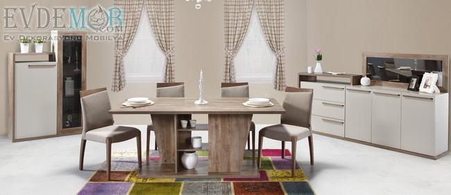 2019 Alfemo Mobilya Yemek Odası Takımları ve Fiyatları 10