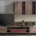 Enza mobilya modern ahşap  tv üniteleri