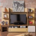 Enza mobilya ahşap modern tv üniteleri
