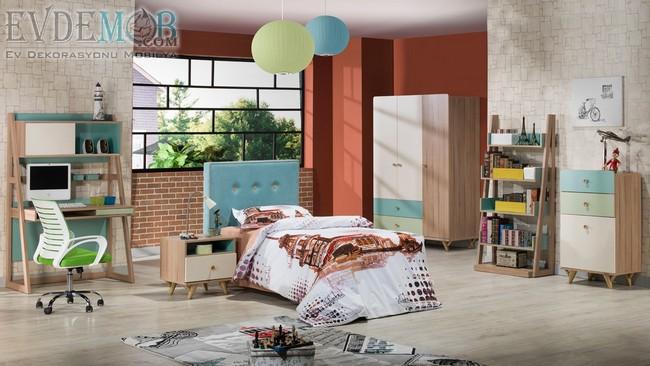 2019 İstikbal Mobilya Genç Odası Takımları ve Fiyatları 3